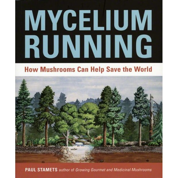 Mycelium Running, Dr. Paul Stamets, ISBN: 978-1580085793...